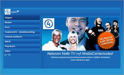 Nelosen Netti-TV