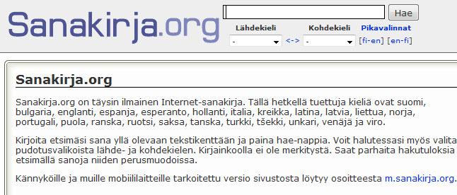 sanakirja-org